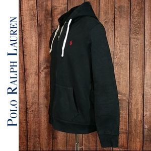 NWOT XXL Super Heavy Polo Zip Hoodie with Pockets
